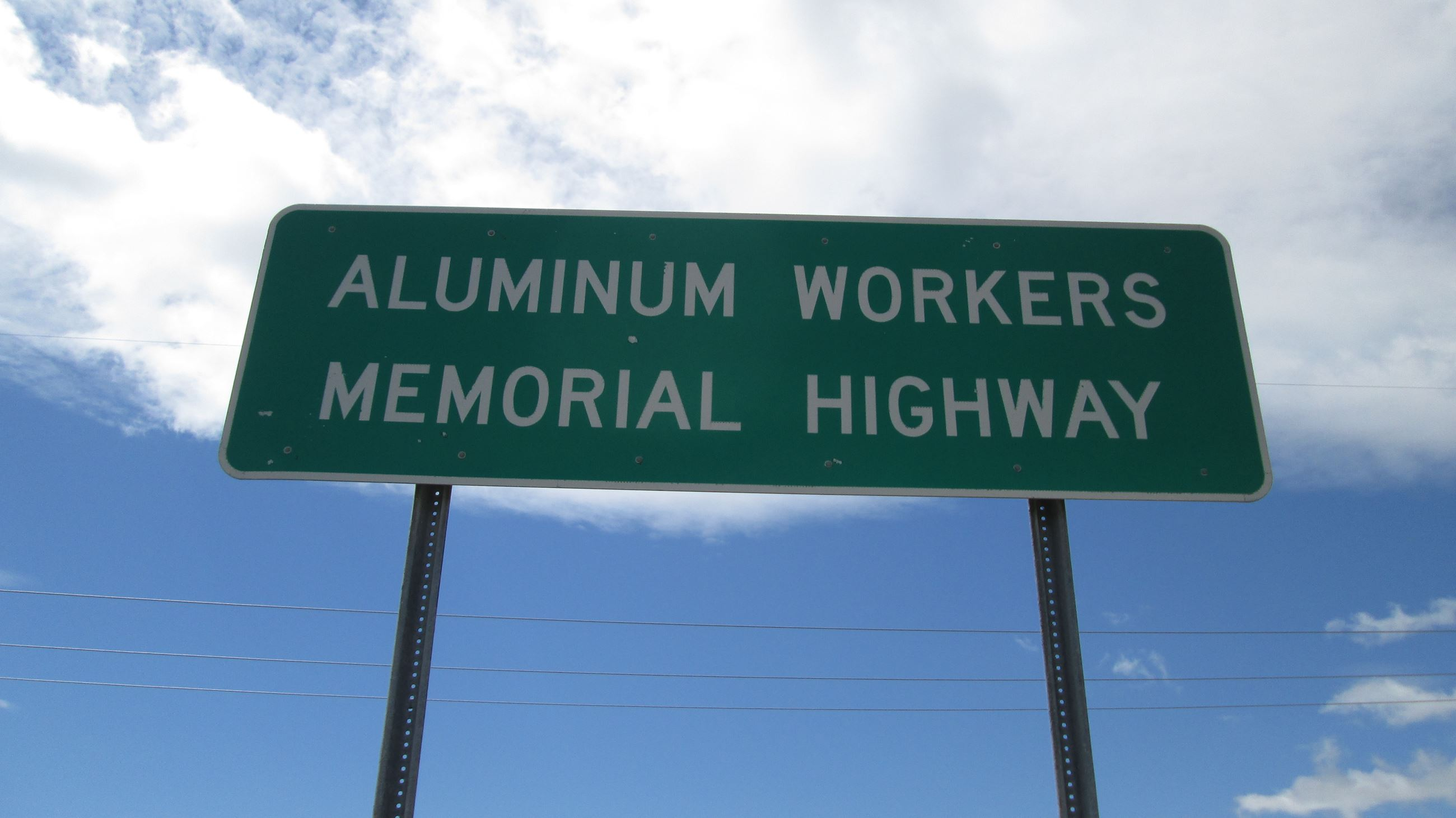 Aluminum Workers Memorial Highway NYS Route 37
