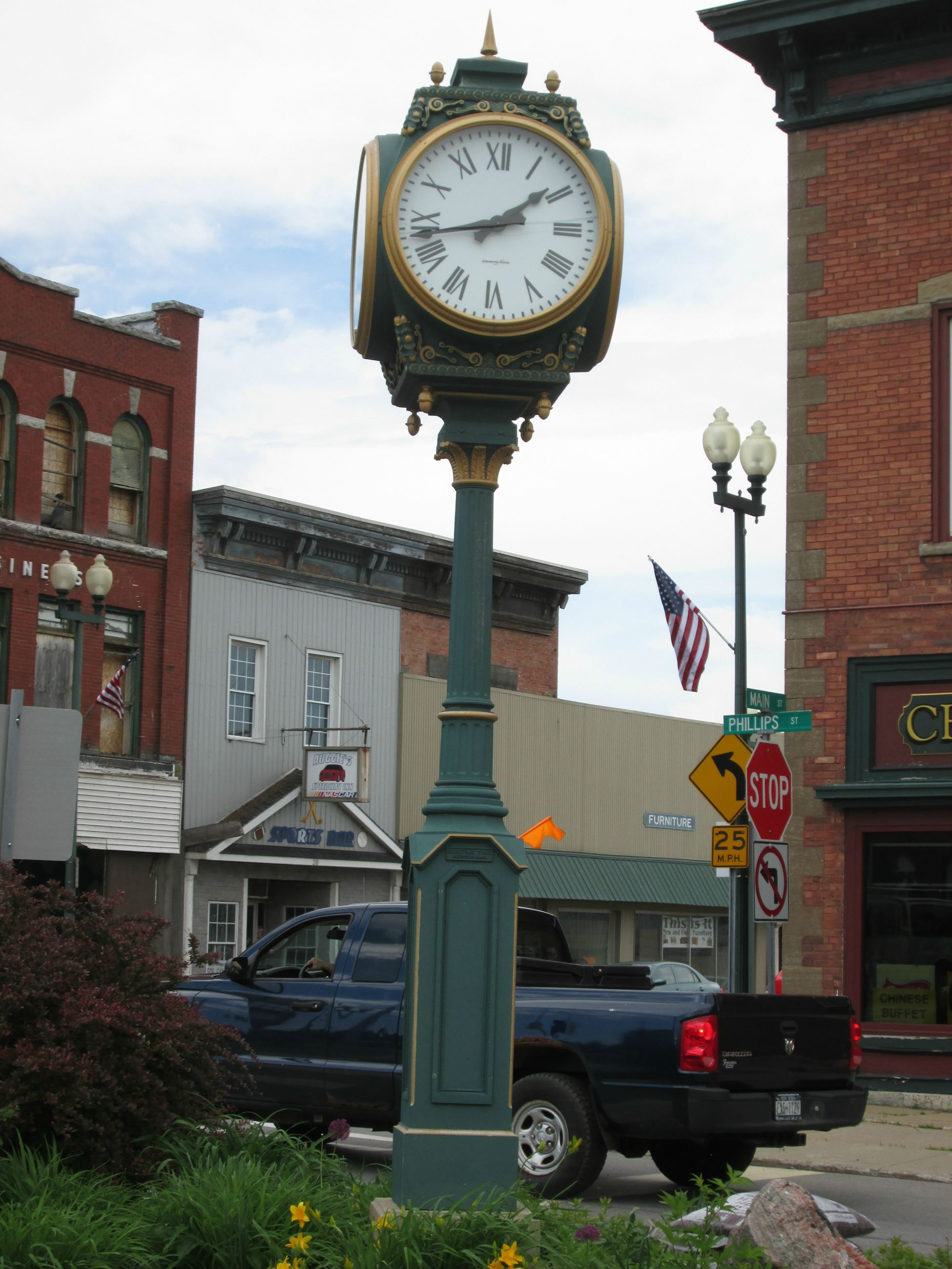 Town of Massena Bicentennial Clock