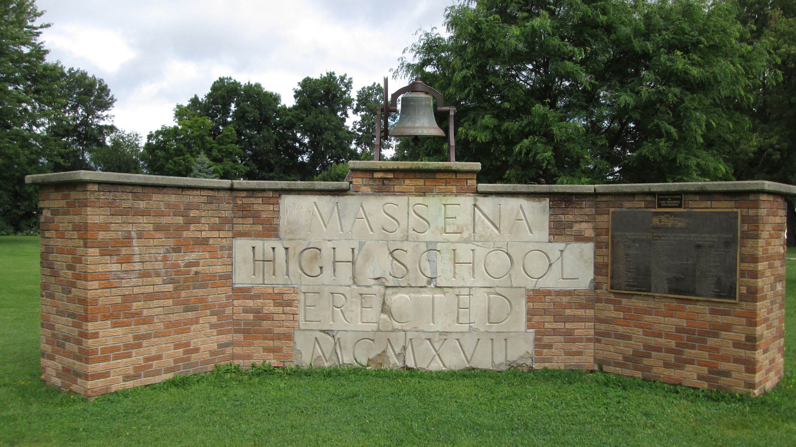 Massena High School Memorial