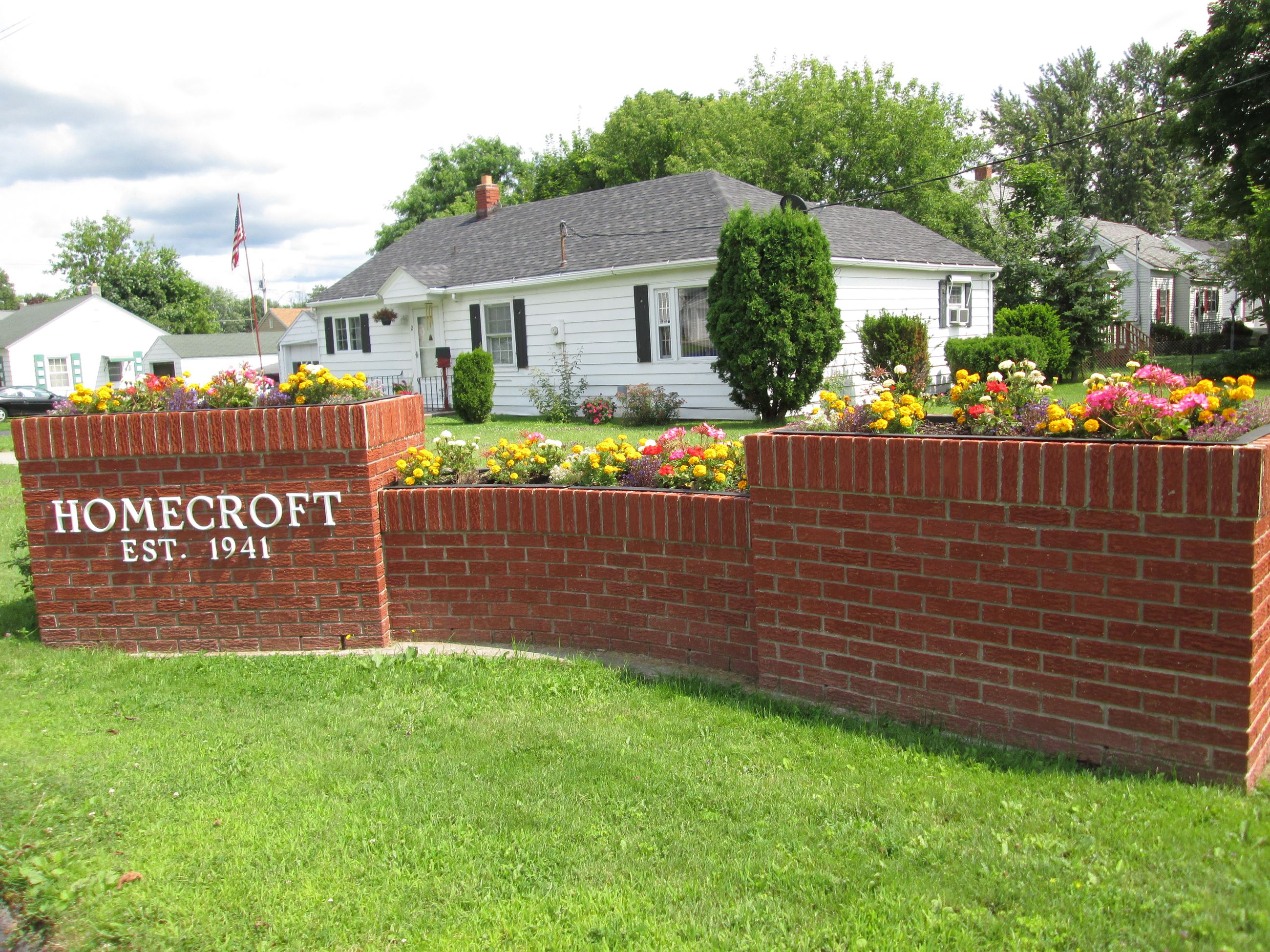 Homecroft Development Sign