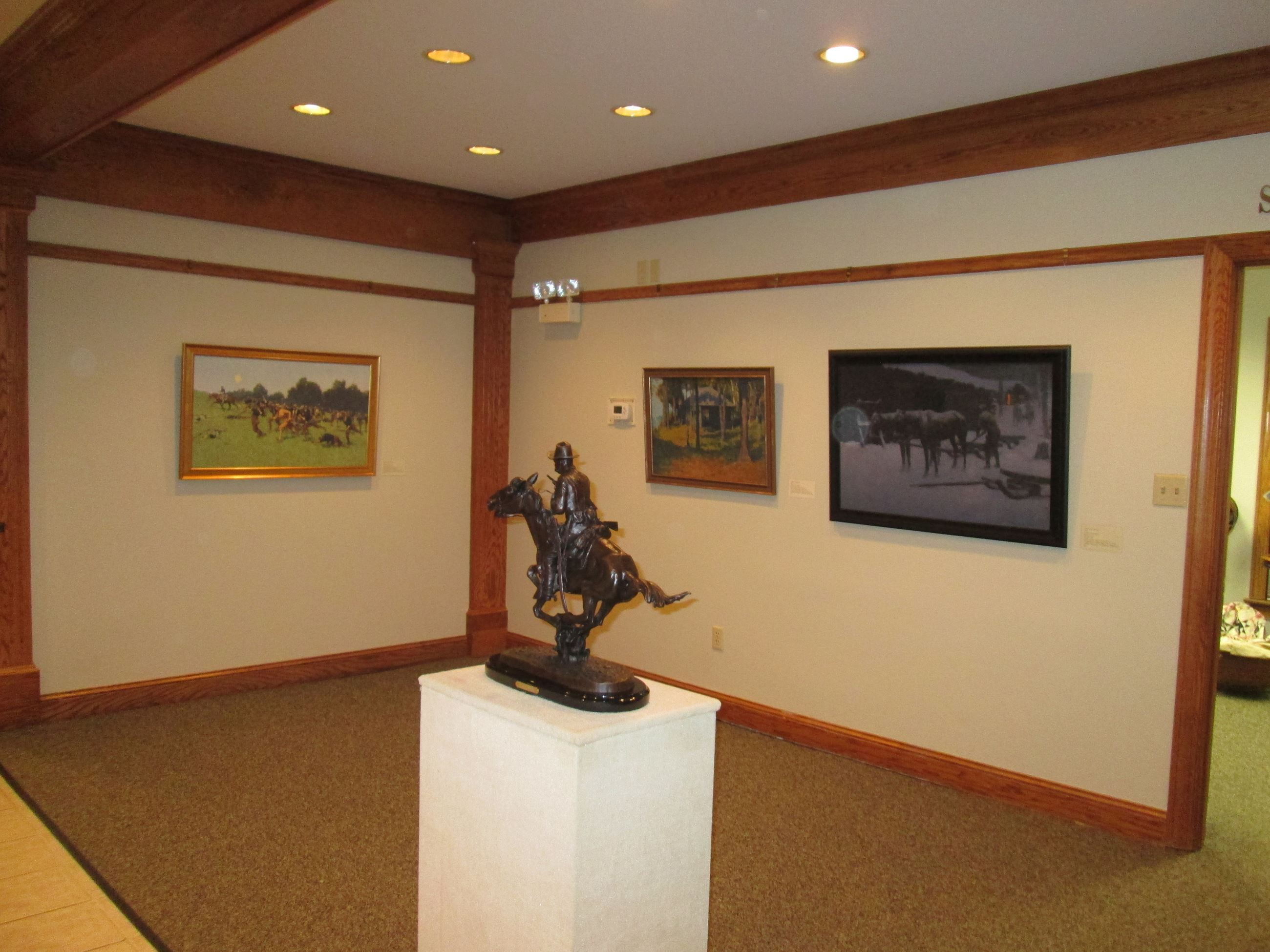 Frederic Remington Paintings and Sculpture